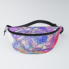 It's alive: naive - 3D Space WallArt Fanny Pack
