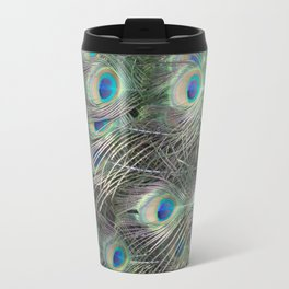 Peacock's feathers Travel Mug