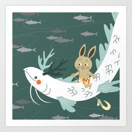 RIA - Sea Dragon Art Print