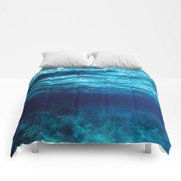 Blue Underwater Comforters