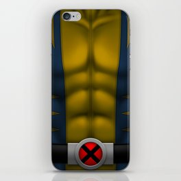 Wolvie: Superhero Art iPhone Skin