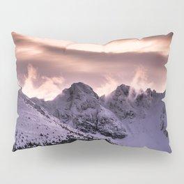 Cloudy peaks Pillow Sham