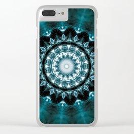 Cool Deep Mandala Clear iPhone Case