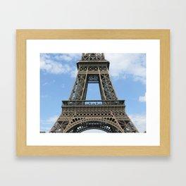 Mr. Eiffel's Genius Framed Art Print