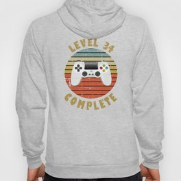 34th Birthday Gift for Him or Her Hoody