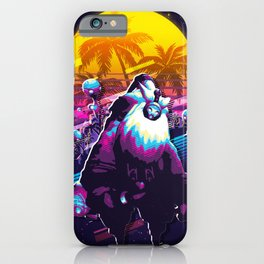 Bard league of legends game 80s palm vintage iPhone Case