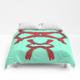 Symmetry: Wrestler Mask Comforters