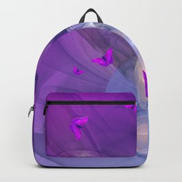 Birth of butterfly wishes Backpack