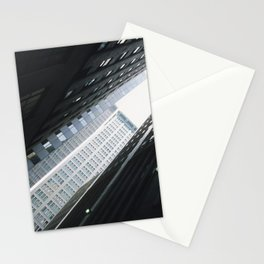 New York City: Angles in Black and White Stationery Cards