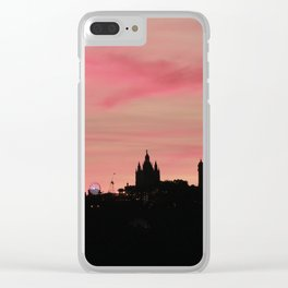 SKYLINE VOL III Clear iPhone Case
