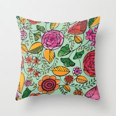 Garden Variety Throw Pillow