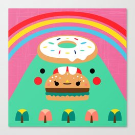 Hungry Mountain Canvas Print