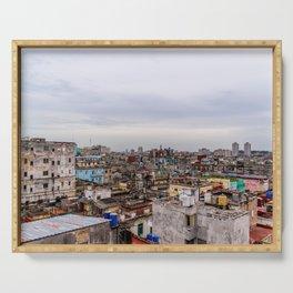 Ciudad de La Habana Serving Tray