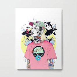 keith ape Metal Print