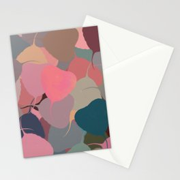 Bodhitree Leave Patten (Autum) Stationery Cards