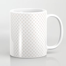 Bridal Blush Polka Dots Coffee Mug
