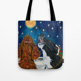 The Moon Dog Singers Tote Bag