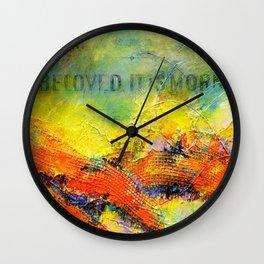 Beloved, it is morn Wall Clock