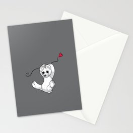 Floating-by Bear Stationery Cards