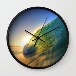 Chris Harsh Photos * Wave Of Joy Wall Clock
