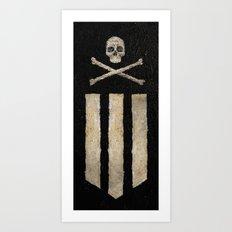 Skull & Crossbones Ultra Art Print