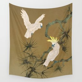 Wild Cockatoos Wall Tapestry