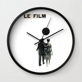Le Film Wall Clock