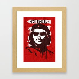 CliChe Framed Art Print