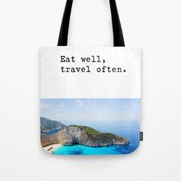 Eat well Island Tote Bag