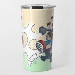 Flowers Versus Chocolate Travel Mug