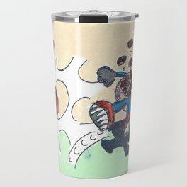 Flowers Versus Chocolate Travel Mug