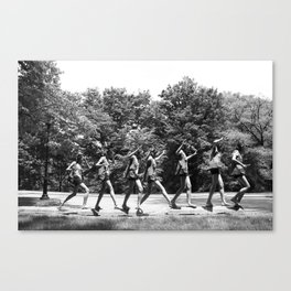 Sequence Canvas Print