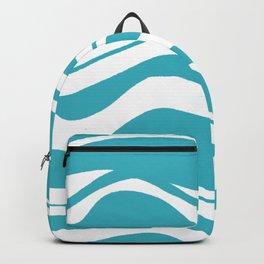 Swell, ocean waves Backpack