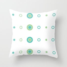 Lil Monsters - pattern 4 Throw Pillow
