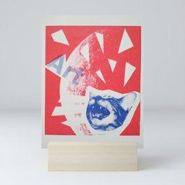 Screaming art Mini Art Print