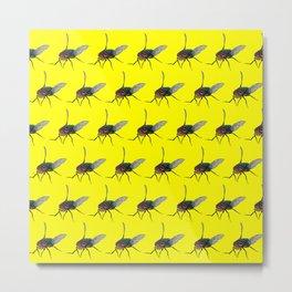 Flys pattern Metal Print