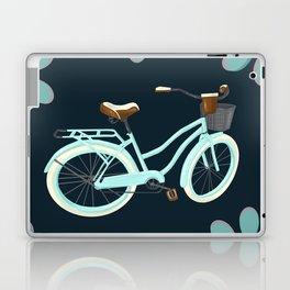 My Bike Floral Laptop & iPad Skin