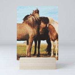 Hofn Horse II Mini Art Print