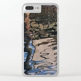 Dockside Reflection Clear iPhone Case