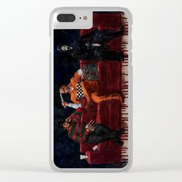 Three Killers Chilling Clear iPhone Case