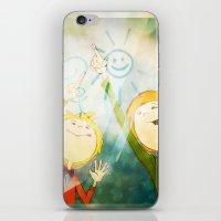 friendship iPhone & iPod Skins featuring Friendship by Tatiana Obukhovich