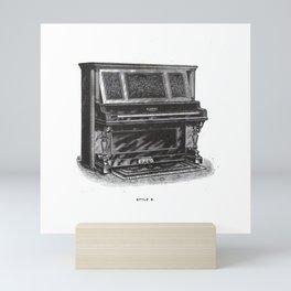 Kimball Piano 04 Mini Art Print