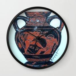 Greek Amphora Wall Clock