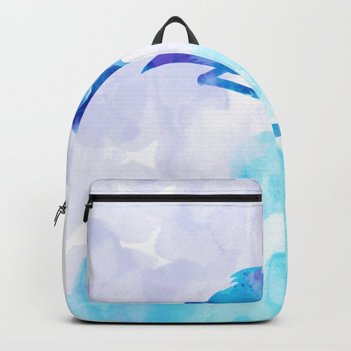 Abstract Flamingo Backpack