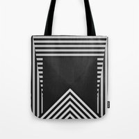 runner Tote Bags featuring Runner by osores