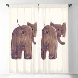 Elephant's butt Blackout Curtain