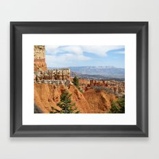Agua Canyon - Bryce Framed Art Print