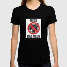 Banjo Free Zone T-shirt
