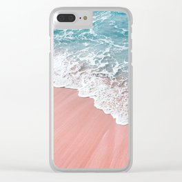 Ocean Love Clear iPhone Case