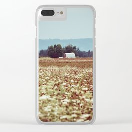 In The Country Clear iPhone Case